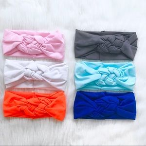 Knotted Cotton Stretch Headband